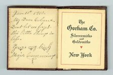 Jan 11, 1910 The Gorham Co. Silver & Goldsmith, To Colonel From Major Cummings