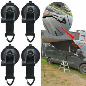 4 Stk Saugnapfhaken Auto Markise Plane Boot Fester Haken Für Camping Im Freien