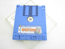 Famicom Disk 3D HOT RALLY MARIO disk Only Nintendo Japan Game dk