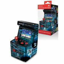 RETRO 8-BIT PORTABLE ARCADE MACHINE 200 BUILT IN GAMES BRAND NEW MY ARCADE