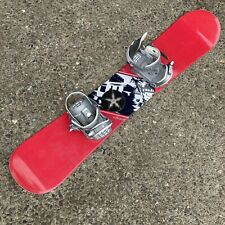 New listing K2 Snowboard Transit 145 with Drake Bindings Red