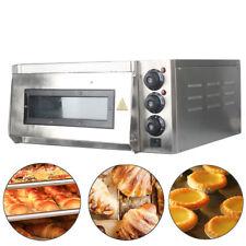 Commercial Countertop 14 Pizza Cake Bread Baking Oven Single Deck Stone