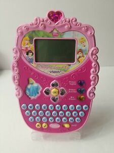 Vtech Magical Learn and Go Tablet Disney Princess Learning Games Tested & Works