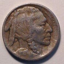 1913 Ty 2 5C Buffalo Nickel VF/XF