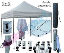 GAZEBO automatico pieghevole 3x3 in alluminio