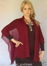only one jacket poncho cowl vest knit M L 1X 2X zw430