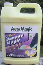CREAM WAX BANANA MAGIC by Auto Magic, for DEEP LONG LASTING HIGH SHINE, 1 GAL
