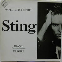 """STING We'll Be Together 1987 BRAZIL Promo Only 12"""" Sung in PORTUGESE Police"""