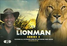 THE LION MAN SERIES 3 - 6 DVD GIFT SET - FEATURING ALL 20 EPISODES LIONMAN