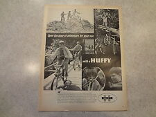 "1970 Huffy Bicycle ""Open the door..."" Original Magazine Ad"
