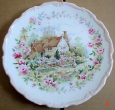 Royal Albert Collectors Plate SUMMER From THE COTTAGE GARDEN YEAR SERIES