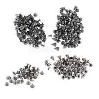 Metal Studs Rivet Punk Spike Cone Screwback For Leather Craft DIY Shoes Hat Bags