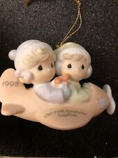 precious moments ornaments Our First Christmas Together 1998 Mib Free Shipping