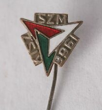 Hungary Hungarian Badge Pin KISZ member 1966 Soviet Communist youth ISZM
