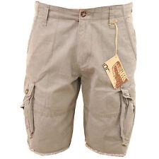 Mens Chino Combat Shorts Cotton Summer Casual Holiday Camo Stylish Smart