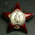 RUSSIAN Soviet ARMY ORIGINAL SILVER Order OF THE RED STAR #2072642