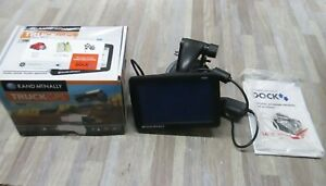 """RAND McNALLY IntelliRoute TND 530LM (US  AND CANADA)   5"""" Truck GPS BUNDLE"""