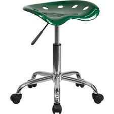Flash Furniture Green Plastic Stool, Green - LF-214A-GREEN-GG