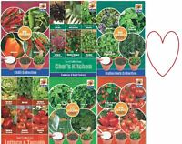 Herb Vegetable Seeds Seed Grow Plant 6-in-1 Discs Home Indoor Outdoor