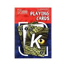 Lagoon Natural History Museum Pack of Dinosaur Education Playing Cards Gift Idea