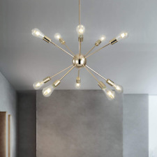 Sputnik Chandeliers 10 Lights Chandelier Chandelier Modern Ceiling Light Fixture