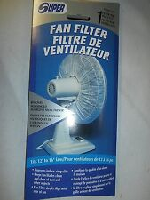 """CASE OF 24 SUPER OSCILLATING FAN FILTERS FOR 12"""" TO 16"""" FANS"""