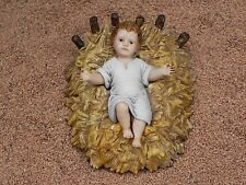 Landi BabyJesus Nativity Set Figurine Creche Manger Scene Presepio Pesebre Jesus