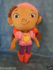 "Disney Jake And The Neverland Pirates Izzy Girl Pirate Plush Doll 12"""