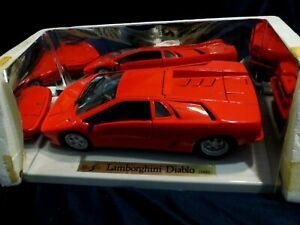 Maisto 1 18 Red Lamborghini Diablo 1990 Die Cast Car
