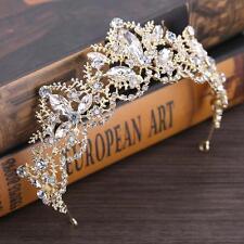 Baroque Crown Princess Tiaras Wedding  Tiara Bride Diadem Coronet Hair Accessory