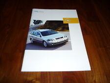 Opel Astra Prospekt 09/2002