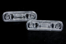 NEW OEM Rear License Plate Light Lenses 2pcs Fits Mercedes W126 1971-1991