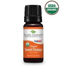 Organic Sweet Orange Essential Oil 10 ml 100% Pure, Undiluted