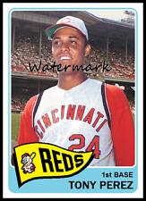 1965 Topps Style TONY PEREZ Cincinnati Reds CUSTOM ACEO Baseball Art Card ATC