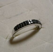 Black Diamond Ring Sz. 6 38 diamonds .35tcw MSRP$724
