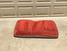 1974-1981 PONTIAC FIREBIRD TRANS AM BACK SEAT REAR RED