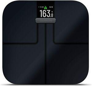 Garmin Index S2 Wireless Smart Scale Measure Body Fat, Muscle, Bone Mass & More