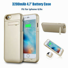 4.7'' iPhone 6/6S 3200mAh Slim Battery Case External Charger Power Bank Gold#1