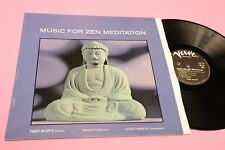 TONY SCOTT LP MUSIC FOR ZEN MEDITATION ORIG FRANCE EX LAMINATED COVER