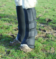 Rhinegold Neoprene Horse Pony Breathable Turnout boots Mud Fever prevention