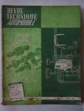 Revue Technique Automobile RTA 244 1966 CITROEN DS 19 DS 21 pallas BMC 850