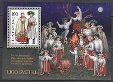 LATVIA 1998**MNH SC# 467 S/S  Traditional Costume