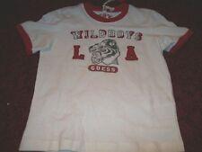 GUESS cooles T-Shirt Raubkatze Gr. 5 J NEU