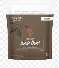 Isagenix IsaLean Whole Blend Whey-Based Case (14) Dutch Chocolate Shake Exp 8/21