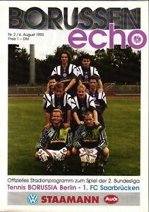 II. BL 93/94 Tennis Borussia Berlin - 1. FC Saarbrücken, 06.08.1993