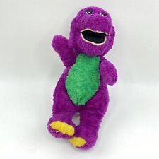 "Barney Purple Dinosaur Plush Vintage Stuffed Animal Lyons Group Toy 11"""