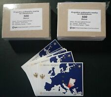 "1000 BLOCKS MONTENEGRO ""50 Jahre Europa CEPT 2006"" ** MNH ---EUROPA-KARTE---"