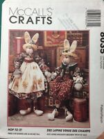 Vintage Sewing Pattern HOP TO IT Rabbit Bunny Doll Clothes McCalls Crafts #8035