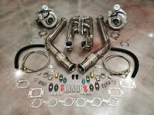 FOR 94-04 Ford Mustang TWIN TURBO T3T4 Turbocharger Kit 3.8 V6 Custom Built PONY