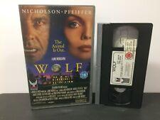 WOLF - Big Box, 20-20 Vision, Ex Rental VHS Tape!